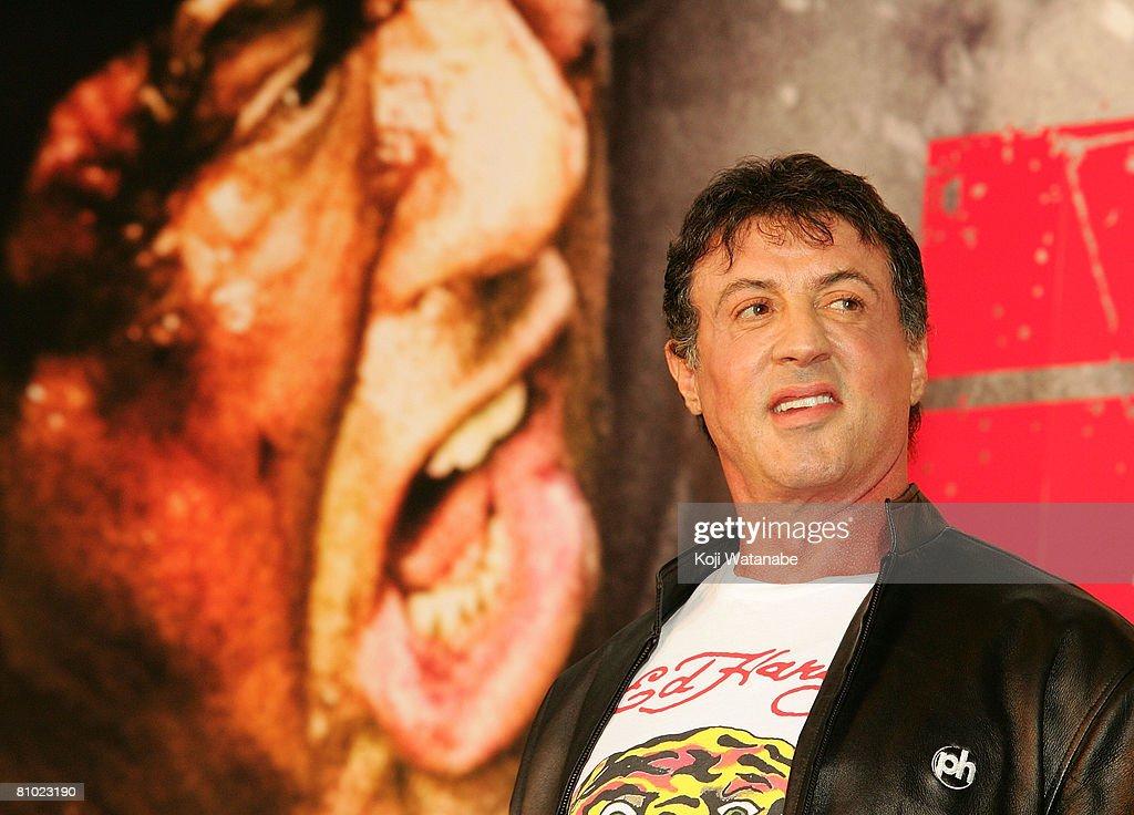 'Rambo' Japan Premiere : News Photo