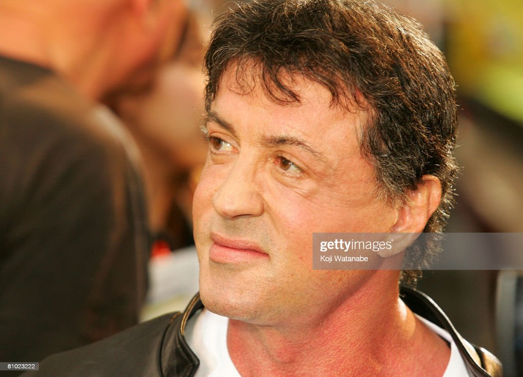 Actor/director Sylvester Stallone attends 'Rambo' Japan Premiere at Roppongi Hills on May 8, 2008 in Tokyo, Japan. The film will open on May 24 in Japan.