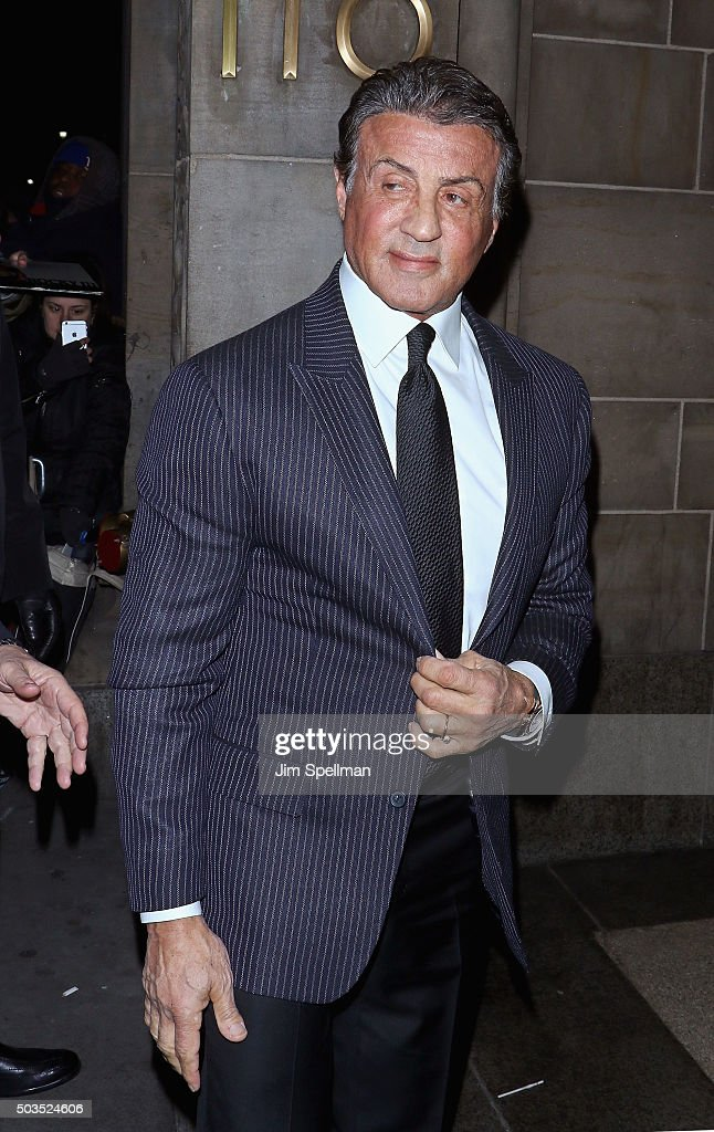 Actor/director Sylvester Stallone attends the 2015 National Board Of Review Gala at Cipriani 42nd Street on January 5, 2016 in New York City.