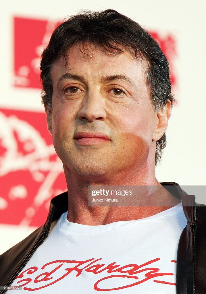 Actor/director Sylvester Stallone attends the 'Rambo' Japan Premiere at Roppongi Hills on May 8, 2008 in Tokyo, Japan. The film will open on May 24 in Japan.
