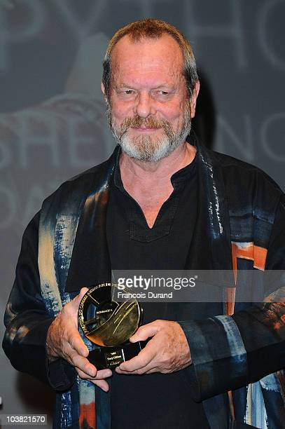 Actor/director Terry Gilliam receives a film tribute to his career during the 36th Deauville Film Festival on September 3 2010 in Deauville France