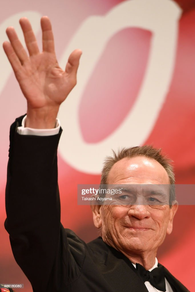 Actor/Director Tommy Lee Jones attends the red carpet of the 30th Tokyo International Film Festival at Roppongi Hills on October 25, 2017 in Tokyo, Japan.