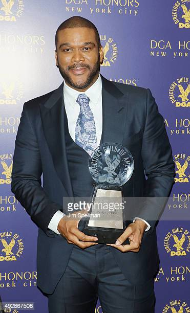 Actor/director Tyler Perry attends the DGA Honors Gala 2015 at the DGA Theater on October 15 2015 in New York City
