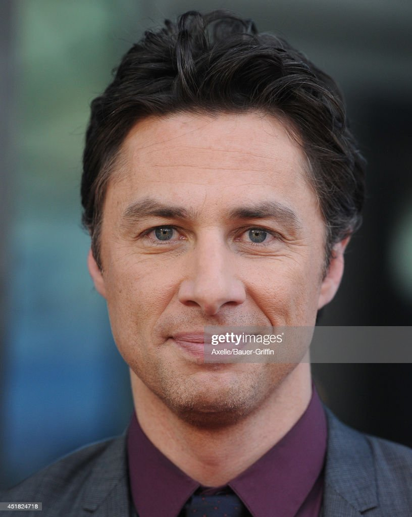 Actor/director Zach Braff arrives at the Los Angeles Premiere 'Wish I Was Here' at the DGA Theater on June 23, 2014 in Los Angeles, California.