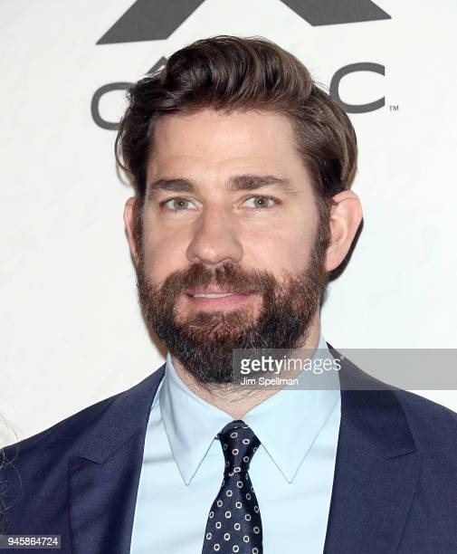 Actor/directorJohn Krasinski attends the 2018 Variety's Power of Women New York at Cipriani Wall Street on April 13 2018 in New York City