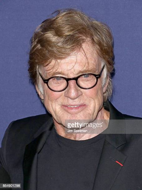 Actor/director/producer Robert Redford attend the New York premiere of 'Our Souls at Night' hosted by Netflix at The Museum of Modern Art on...