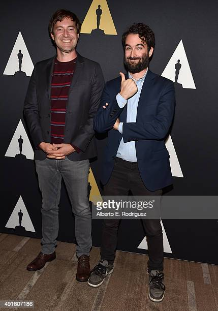Actor/directors Mark Duplass and Jay Duplass attend This Is Duplass An Evening With Jay ans Mark at Academy Of Motion Picture Arts And Sciences on...
