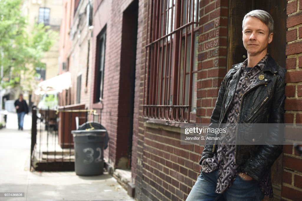 Actor/director/writer John Cameron Mitchell is photographed for Boston Globe on May 11, 2017 in New York City.