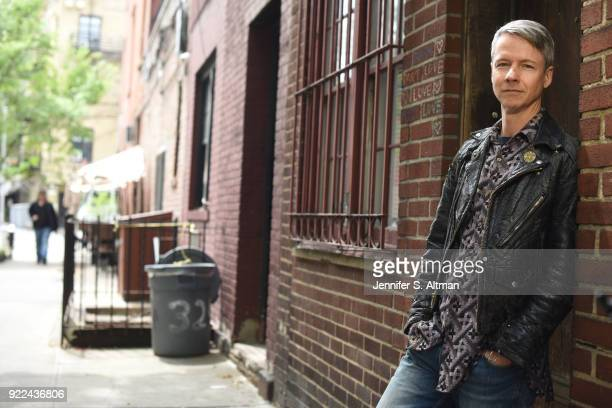 Actor/director/writer John Cameron Mitchell is photographed for Boston Globe on May 11 2017 in New York City