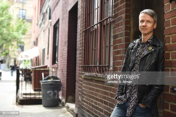 Actor/director/writer John Cameron Mitchell is photographed for Boston Globe on May 11 2017 in New York City PUBLISHED IMAGE