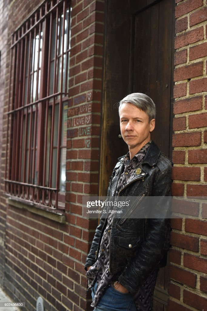 John Cameron Mitchell, Boston Globe, May 28, 2017 : Photo d'actualité