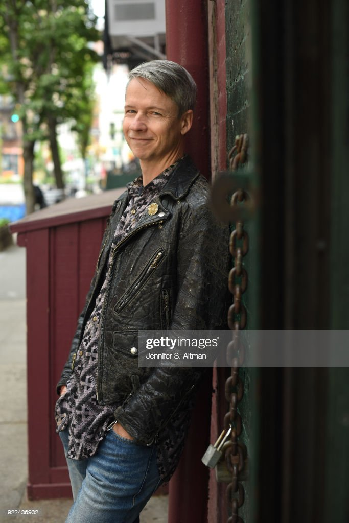 John Cameron Mitchell, Boston Globe, May 28, 2017 : Nachrichtenfoto