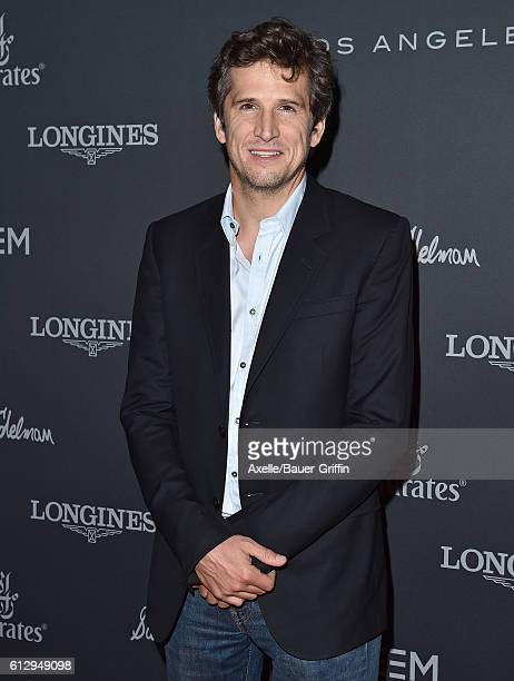 Actor/Equestrian Guillaume Canet arrives at Longines Masters Los Angeles Gala at Long Beach Convention Center on September 29 2016 in Long Beach...
