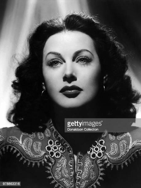 """Actoress Hedy Lamarr in a scene from the movie """"The Heavenly Body"""" which was released in April 1944."""
