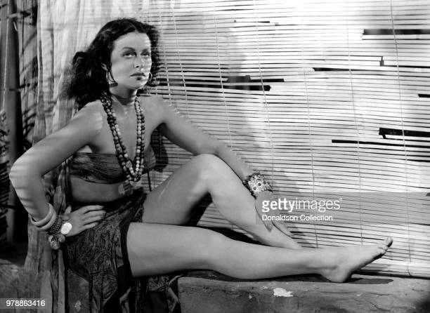 """Actoress Hedy Lamarr in a scene from the movie """"White Cargo"""" which was released on December 12, 1942."""