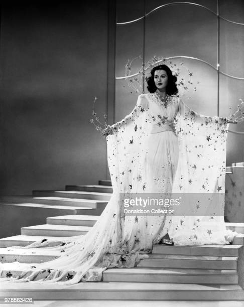 "Actoress Hedy Lamarr in a scene from the movie ""Ziegfeld Girl"" which was released on April 25, 1941."