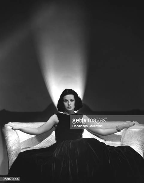 Actoress Hedy Lamarr poses for a portrait in 1938