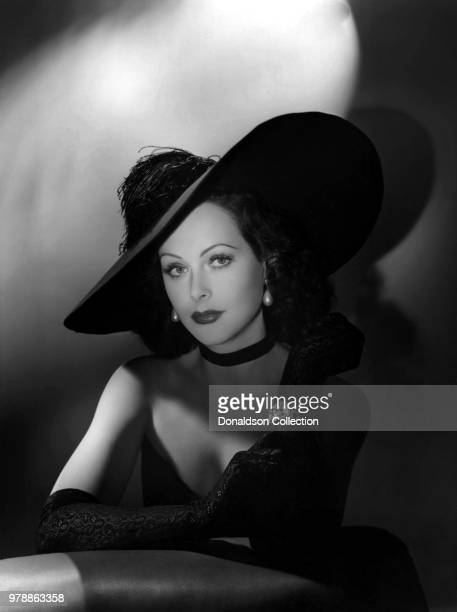Actoress Hedy Lamarr poses for a portrait in 1943.