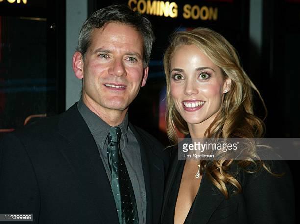 Actor/executive producer Campbell Scott and Elizabeth Berkley