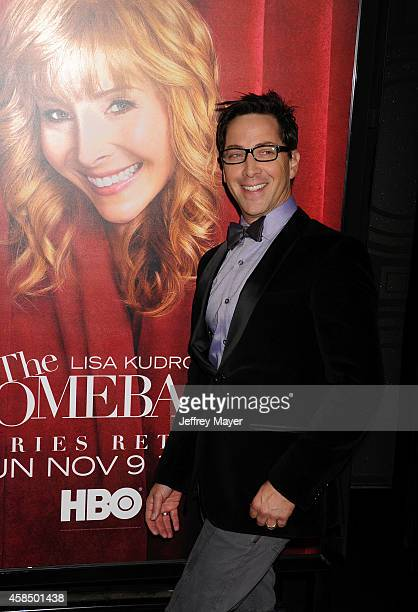 Actor/executive producer Dan Bucatinsky arrives at the Los Angeles premiere of HBO's series 'The Comeback' at the El Capitan Theatre on November 5...