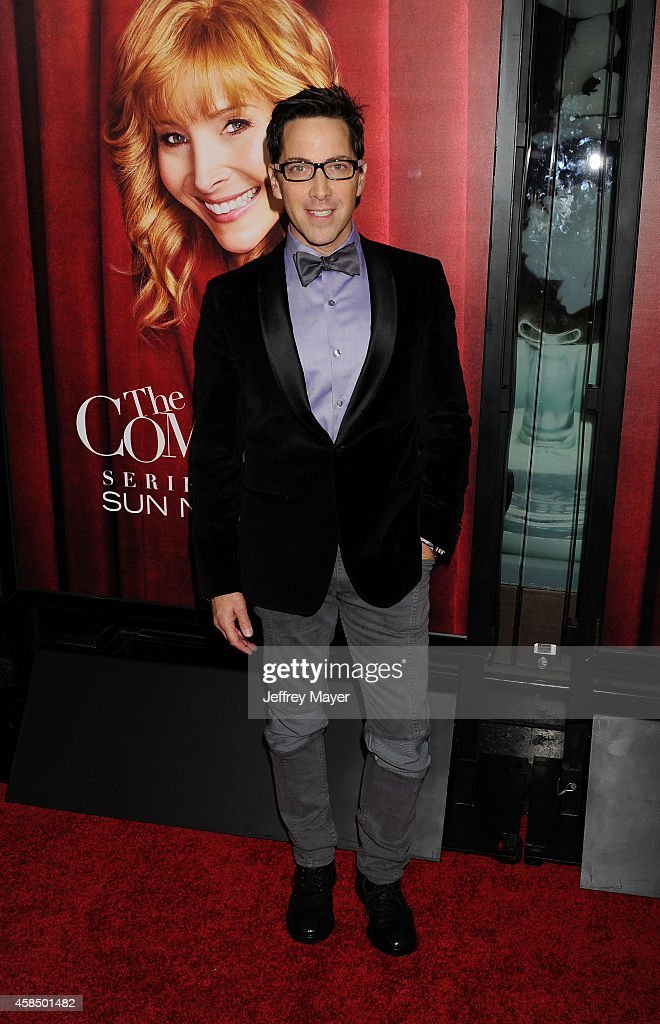 Actor/executive producer Dan Bucatinsky arrives at the Los Angeles premiere of HBO's series 'The Comeback' at the El Capitan Theatre on November 5, 2014 in Hollywood, California.