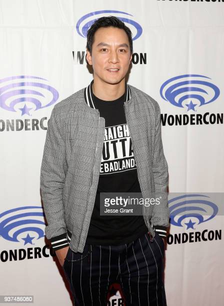 Actor/executive producer Daniel Wu of AMC's 'Into the Badlands' attends WonderCon at Anaheim Convention Center on March 24 2018 in Anaheim California