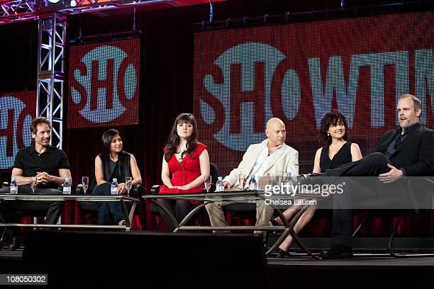 Actor/executive producer David Duchovny actress Pamela Adlon actress Madeleine Martin actor Evan Handler actress Carla Gugino and Creator/executive...