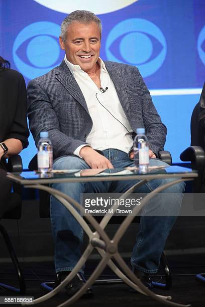 Actor/executive producer Matt LeBlanc speaks onstage at the 'Man With a Plan' panel discussion during the CBS portion of the 2016 Television Critics...