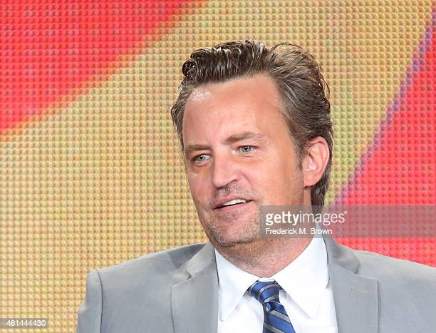 Actor/Executive Producer Matthew Perry speaks onstage during 'The Odd Couple' panel as part of the CBS/Showtime 2015 Winter Television Critics...