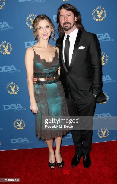 Actor/filmmaker Dave Grohl and wife Jordyn Blum attend the 65th Annual Directors Guild Of America Awards at Ray Dolby Ballroom at Hollywood Highland...
