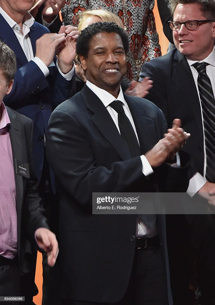 Actor/filmmaker Denzel Washington attends the 89th Annual Academy Awards Nominee Luncheon at The Beverly Hilton Hotel on February 6, 2017 in Beverly Hills, California.