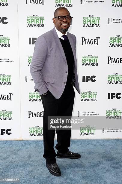 Actor/filmmaker Forest Whitaker attends the 2014 Film Independent Spirit Awards at Santa Monica Beach on March 1 2014 in Santa Monica California