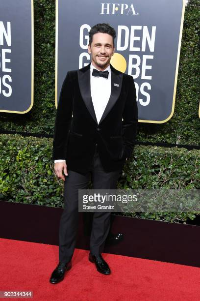 Actor/filmmaker James Franco attends The 75th Annual Golden Globe Awards at The Beverly Hilton Hotel on January 7 2018 in Beverly Hills California