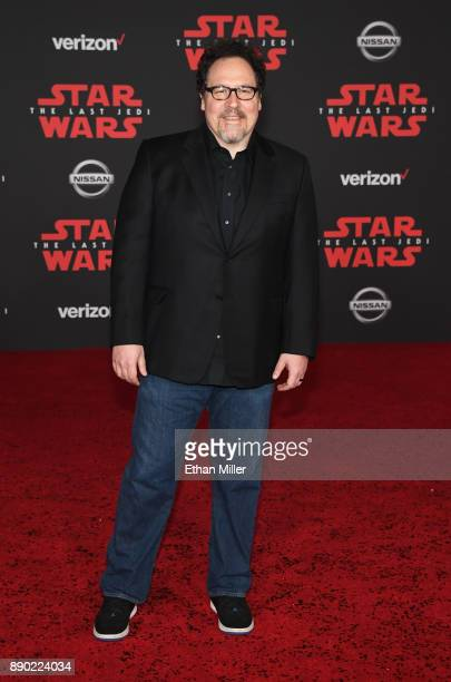 Actor/filmmaker Jon Favreau attends the premiere of Disney Pictures and Lucasfilm's Star Wars The Last Jedi at The Shrine Auditorium on December 9...