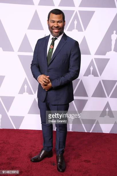 Actor/filmmaker Jordan Peele attends the 90th Annual Academy Awards Nominee Luncheon at The Beverly Hilton Hotel on February 5 2018 in Beverly Hills...