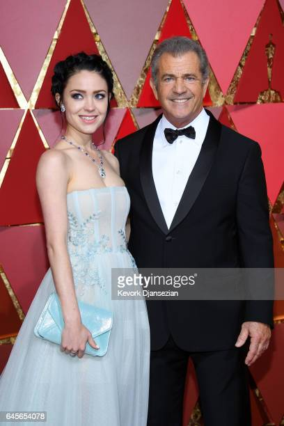 Actor/filmmaker Mel Gibson and Rosalind Ross attend the 89th Annual Academy Awards at Hollywood Highland Center on February 26 2017 in Hollywood...