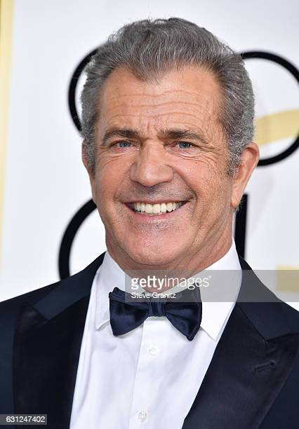 Actor/filmmaker Mel Gibson attends the 74th Annual Golden Globe Awards at The Beverly Hilton Hotel on January 8 2017 in Beverly Hills California