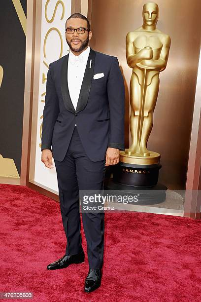 Actor/filmmaker Tyler Perry attends the Oscars held at Hollywood Highland Center on March 2 2014 in Hollywood California