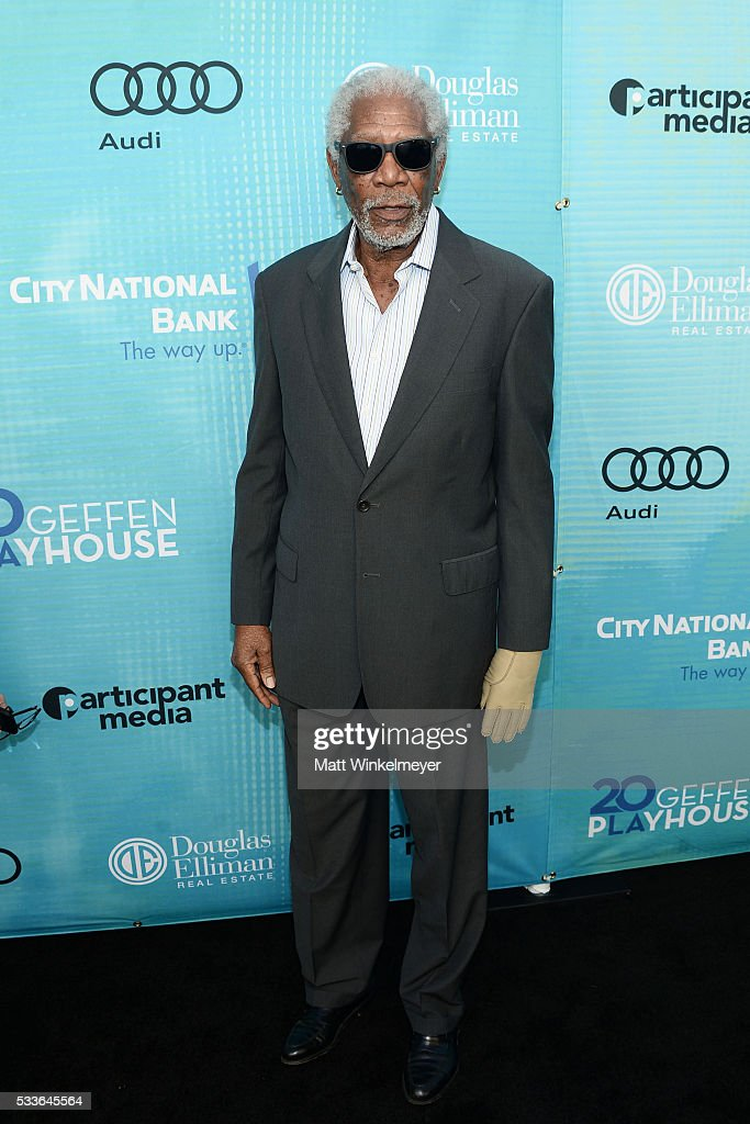 Actor/honoree Morgan Freeman attends Backstage at the Geffen at Geffen Playhouse on May 22, 2016 in Los Angeles, California.