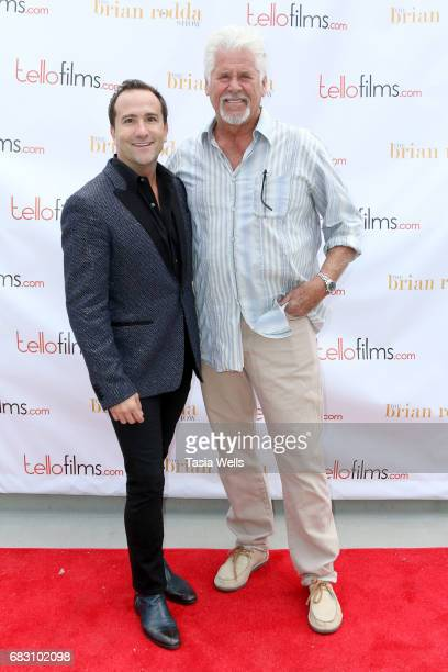 Actor/host Brian Rodda and actor Barry Bostwick attend the Tello Films Hosts for your Considerations EMMY VIP Event at The Downtown Independent on...