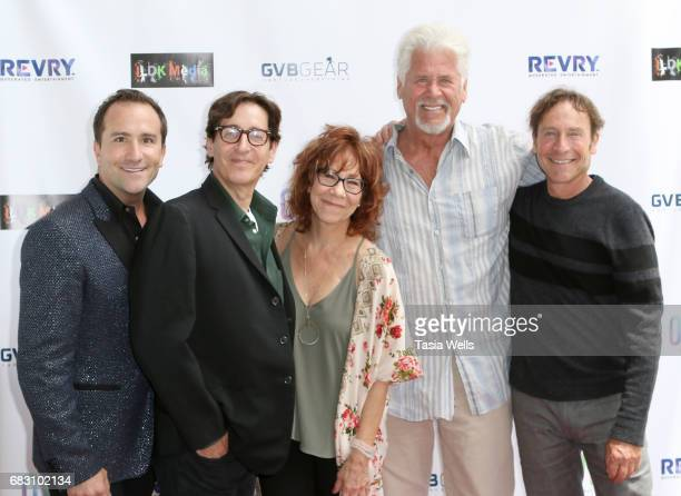 Actor/host Brian Rodda producer/writer/director Stan Zimmerman actor Mindy Sterling actor Barry Bostwick and producer/writer/actor James Berg attend...