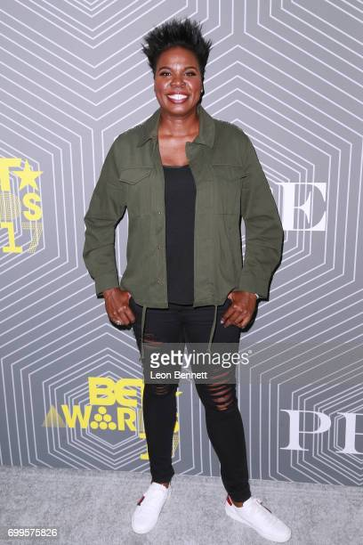 Actor/Host of BET Awards 2017 Lesile Jones arrived at the 2017 BET Awards PRE at The London West Hollywood on June 21 2017 in West Hollywood...