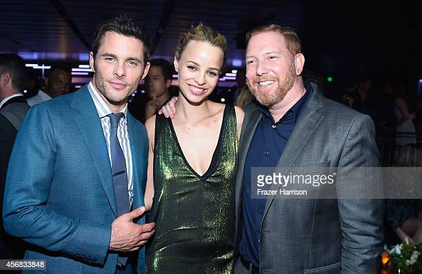ActorJames MarsdenJessica Roffey fiancee of Chief Executive Officerof Relativity Media Ryan Kavanaugh Premiere Of Relativity Studios' The Best Of Me...