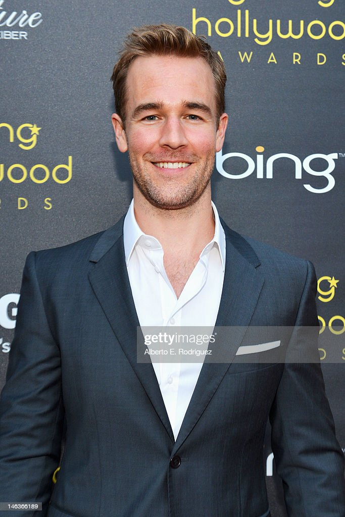 ActorJames Van Der Beek arrives at 14th Annual Young Hollywood Awards presented by Bing at Hollywood Athletic Club on June 14, 2012 in Hollywood, California.
