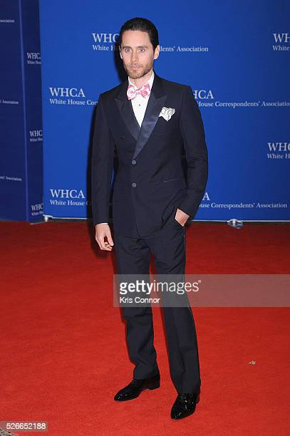 ActorJared Leto attends the 102nd White House Correspondents' Association Dinner on April 30 2016 in Washington DC
