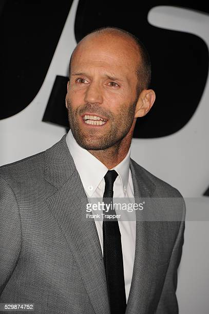 ActorJason Statham arrives at the premiere of Furious 7 held at the TCL Chinese Theater in Hollywood