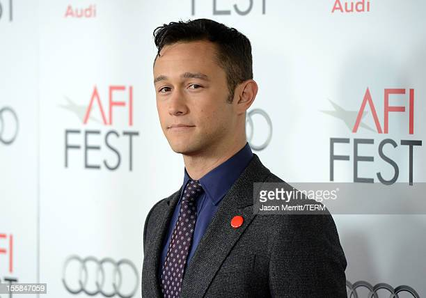 ActorJoseph GordonLevitt arrives at the Lincoln premiere during AFI Fest 2012 presented by Audi at Grauman's Chinese Theatre on November 8 2012 in...