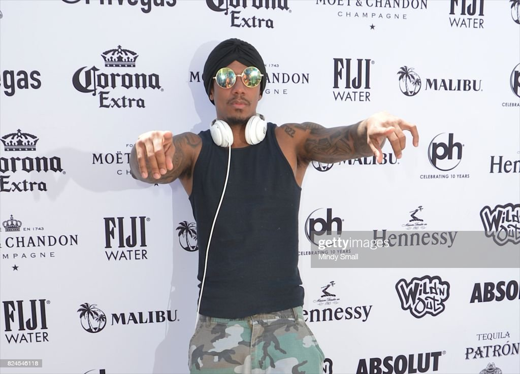 Nick Cannon Hosts The World Wildest Pool Party Series In Las Vegas