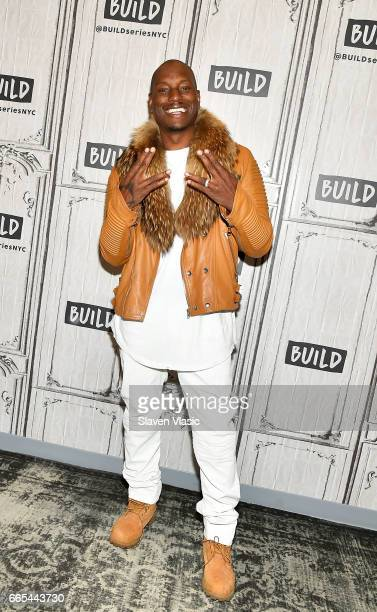 Actor/model Tyrese visits Build Studio to talk about the upcoming 'Fast and Furious 8' film at Build Studio on April 6 2017 in New York City