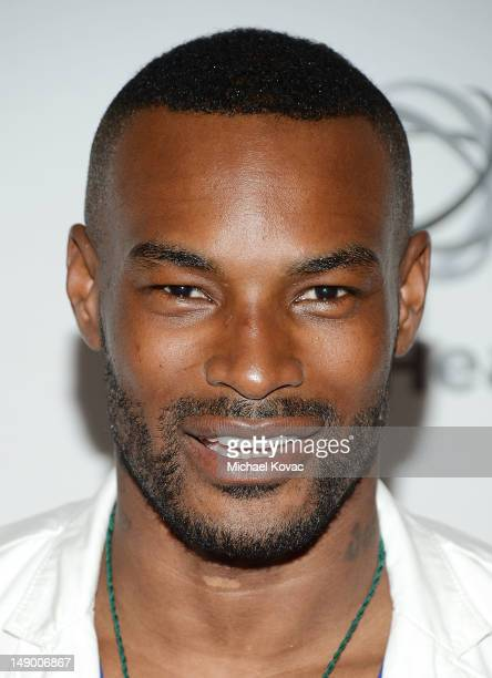 Actor/model Tyson Beckford attends Together To End AIDS: An Evening To Benefit amfAR and GBCHealth at the John F. Kennedy Center for the Performing...